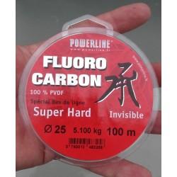 Fluorocarbone Super Hard POWERLINE (100m)