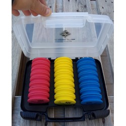 Mallette 24 plioirs SUNSET Sunwinder box