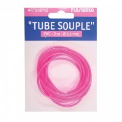 Tube souple (rose fluo)