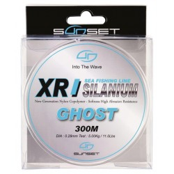 Nylon SUNSET XR Silanium Ghost (300m)
