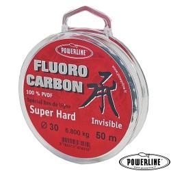 Fluorocarbone Super Hard POWERLINE (50m)