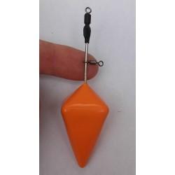 Plomb Portugais DS Orange avec rolling sur la tige (150g)