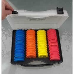 Mallette 46 plioirs SUNSET Sunwinder box