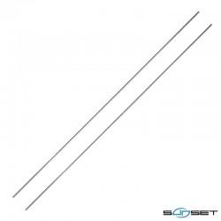 Aiguilles Inox SUNSET 35cm (2 pièces)