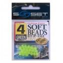 Perles molles SUNSET SoftBeads ST-P-242 (vert phospho)
