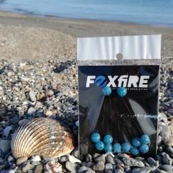 Perles FOXFIRE - Bleu pailleté