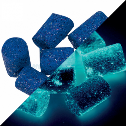 Flotteurs VERCELLI Bleus Phosphos (6 pièces)