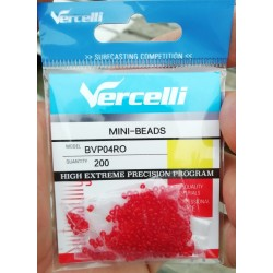 Mini-Perles VERCELLI rouges