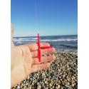 Gaine silicone Clipot rouge (1 pièce)