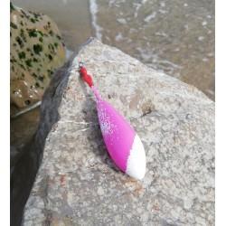 Plomb missile DS rose saupoudré blanc