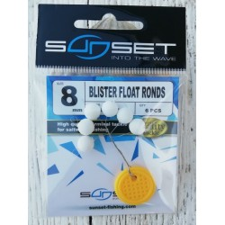 Perle flottante ronde Blanche - SUNSET STD 125