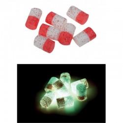 Flotteurs VERCELLI Rouges-Blancs Phosphos (6 pièces)