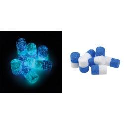 Flotteurs VERCELLI Bleus-Blancs Phosphos (6 pièces)