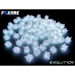Perles FOXFIRE Flottante - Etoile Blanc Phospho