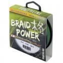 Tresse POWERLINE (1000m) Braid Power 8X - Vert