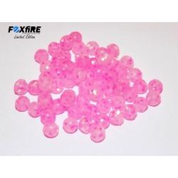 Perles FOXFIRE - Rose pailleté