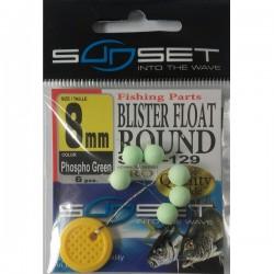 Perle flottante ronde Verte PHOSPHO - SUNSET STD 129