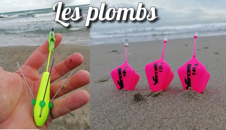 Plombs spécifiques SURFCASTING